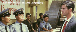 Blog-The year of living dangerously